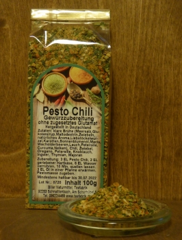 Pesto Chili 100g Tüte